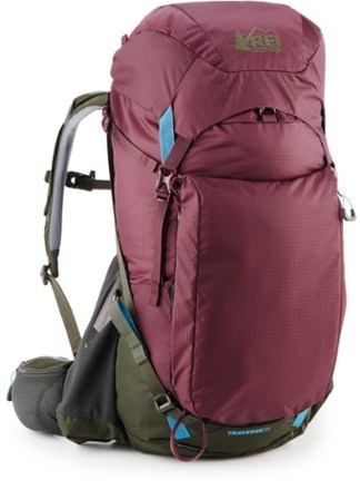 Roomy enough to hold plenty of gear for an overnighter yet sleek enough for day hikes, the women's REI Co-op Traverse 35 pack is comfortable to carry, no matter how many miles you log. - $139.00