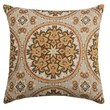 Canaan Akola Chenille Medallion Decorative Pillow - 24x24?, Feather-Down - $24.99