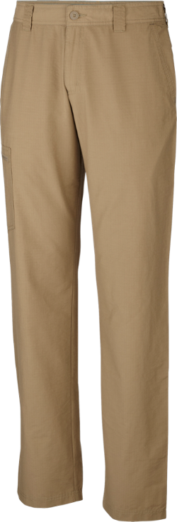 The outdoors is your playground in the men's Columbia Twisted Cliff pants with a 32 in. inseam. Their UPF 15 sun protective, sandwashed cotton and nylon ripstop fabric is soft yet durable. - $38.73