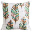 Loloi Embroidered Feather Decor Pillow - 22x22? - $49.99