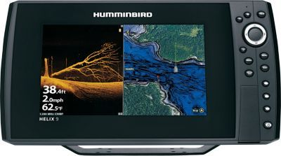 Humminbirds Helix 9 CHIRP MEGA Dl Sonar/GPS G2N Combo delivers crisp images, excellent coverage and an internal GPS so you can spend less time guessing and more time fishing productive spots. G2N units feature Ethernet networking capability, built-in CHIRP sonar, enhanced mapping with AutoChart Live and SmartStrike compatibility, and updated software to enrich your time on the water. Dual Beam Plus combines two beams for extra-wide coverage and teams with CHIRP technology that increases sensitivity and reduces noise so your images are crisp and clear. MEGA Down Imaging delivers clear views up to 125 ft. below your boat. SwitchFire sonar lets you easily distinguish between fish and structure. Internal GPS allows you to store up to 2,750 waypoints and 45 routes. Auto Chart live allows you to map structure on your screen and save to your micro-SD card. Vegetation and bottom hardness overlays the contours, working with your i-Pilot Link to keep you on top of the fish. G2N units can network with other electronics onboard using an Ethernet connection, including Humminbird CHIRP Radar, Auto Pilot, 360 Imaging and i-Pilot Link by Minn Kota. Compatible with all Humminbird LakeMaster maps, including SmartStrike, and Navionics maps, plus it features dual card slots to accommodate multiple mapping options. Ethernet networking allows it to easily connect to other onboard electronics. Bluetooth compatibility lets you see messages and missed calls on the easy-to-read 9 LED-backlit 800x480 screen with 1,500-nit brightness. Color: Clear. Type: Sonar/GPS Combos. - $999.99