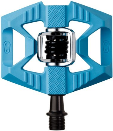 The Double Shot 1 is the newest edition to the crankbrothers Double Shot line, offering classic hybrid pedal ability and a lightweight 1-piece composite body. - $59.95