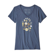 Patagonia Harvest Haul Organic V-Neck Womens T-Shirt - $35.00