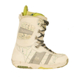 Used Burton Womens Sapphire Snowboard Boots White Map - $39.95
