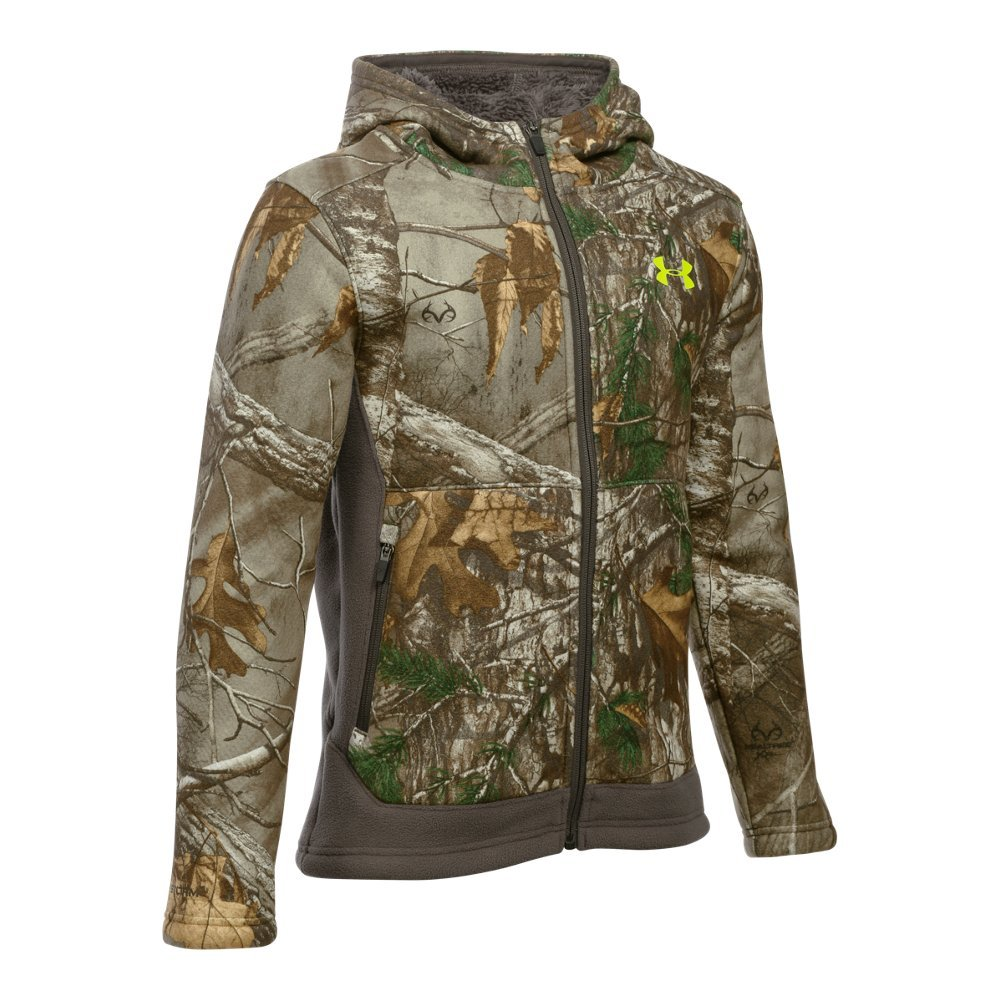 UA Storm technology repels water without sacrificing breathability  Exclusive UA Scent Control technology  Soft fabric with an advanced, high-loft Sherpa inside for extreme warmth  Secure hand pockets - $99.99