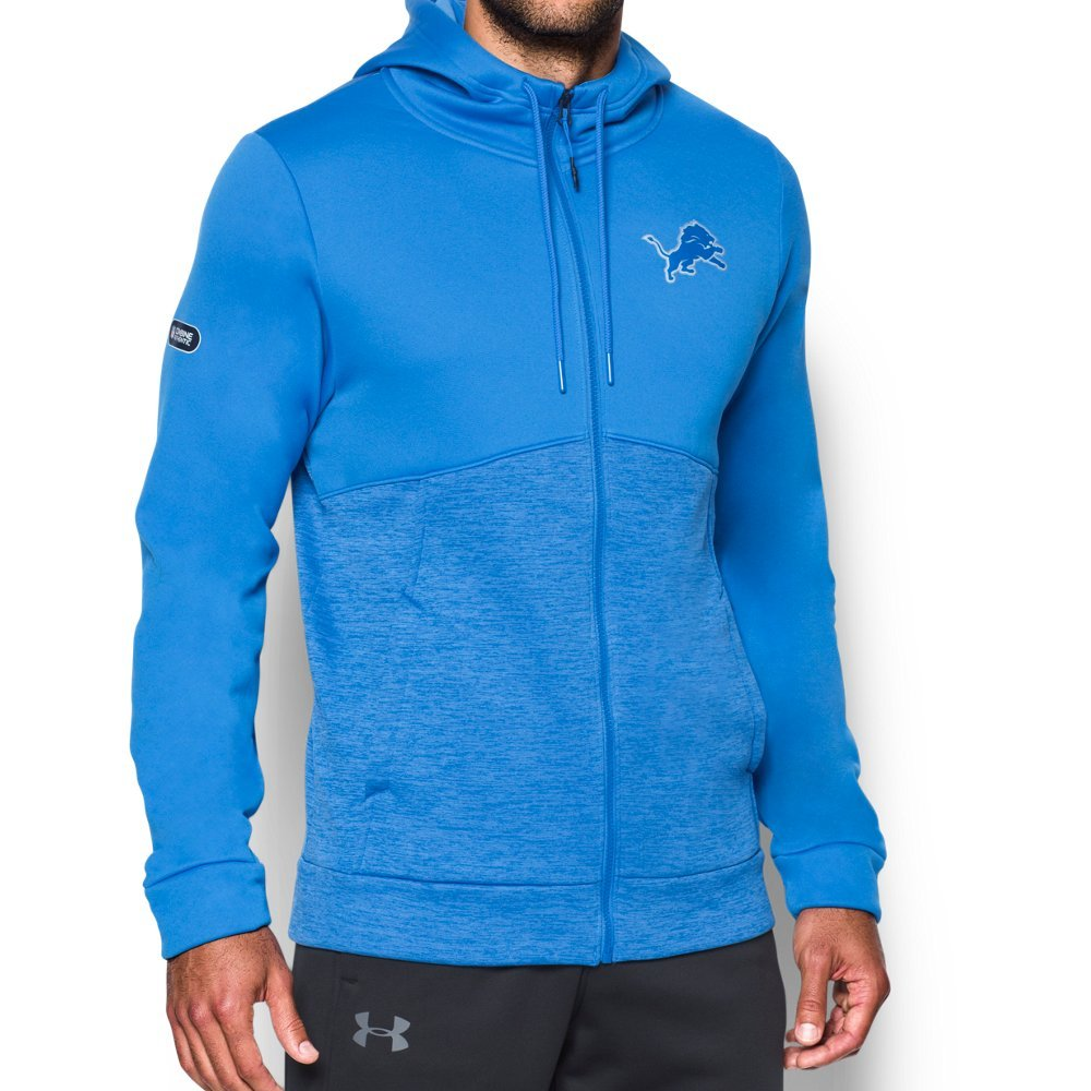 UA Storm technology repels water without sacrificing breathability   Armour Fleece(R) is light, breathable & stretches for superior mobility   Soft inner layer traps heat to keep you warm & comfortable   Hand pockets with right-side internal phone pocket - $67.99