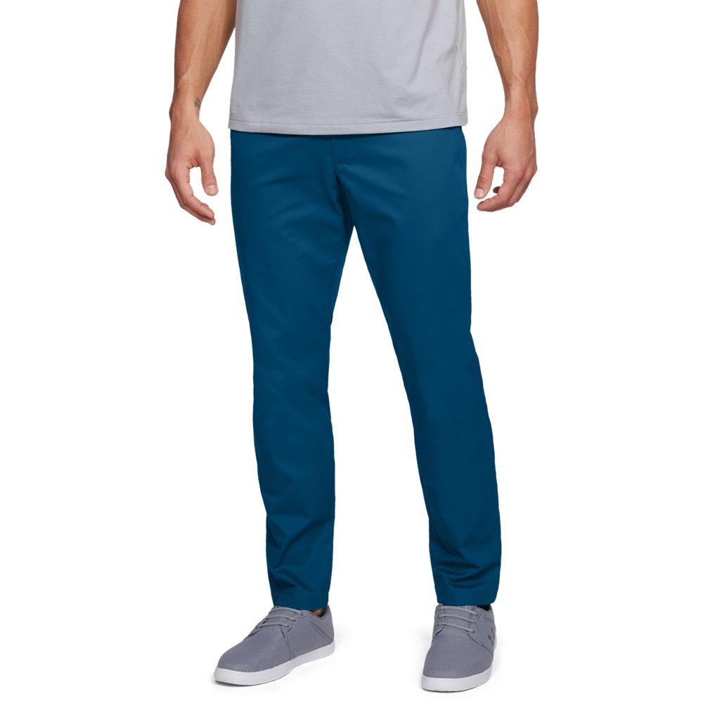 FIT: Tapered leg  Soft, durable fabric wicks sweat, resists wrinkles & lets you move  4-way stretch construction moves better in every direction  Material wicks sweat & dries really fast  Anti-odor technology prevents the growth of odor-causing microbes  Stretch-engineered waistband for superior mobility & insane comfort  Flat-front, 4-pocket design  Deep, ultra-soft knit pocketbags with an internal pocket phone - $85.00