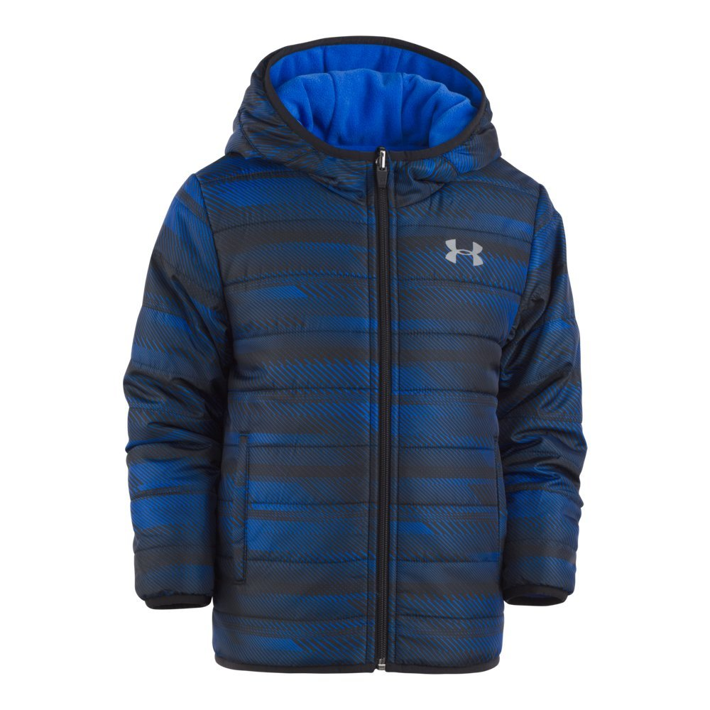 Reversible design features one smooth, woven side & one soft, fleece side   Lightweight insulation keeps him warm without weighing him down   Secure, zip shut hand pockets - $84.99