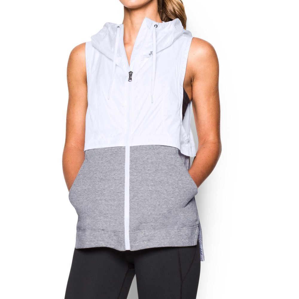 Lightweight woven with super-soft terry for lasting comfort & durability  Material wicks sweat & dries really fast  Generous fit is perfect for layering on the go  Exaggerated drop-tail with split side detail  Low muscle T-inspired armholes  Adjustable 3-piece hood with scuba neck for extra coverage - $63.99