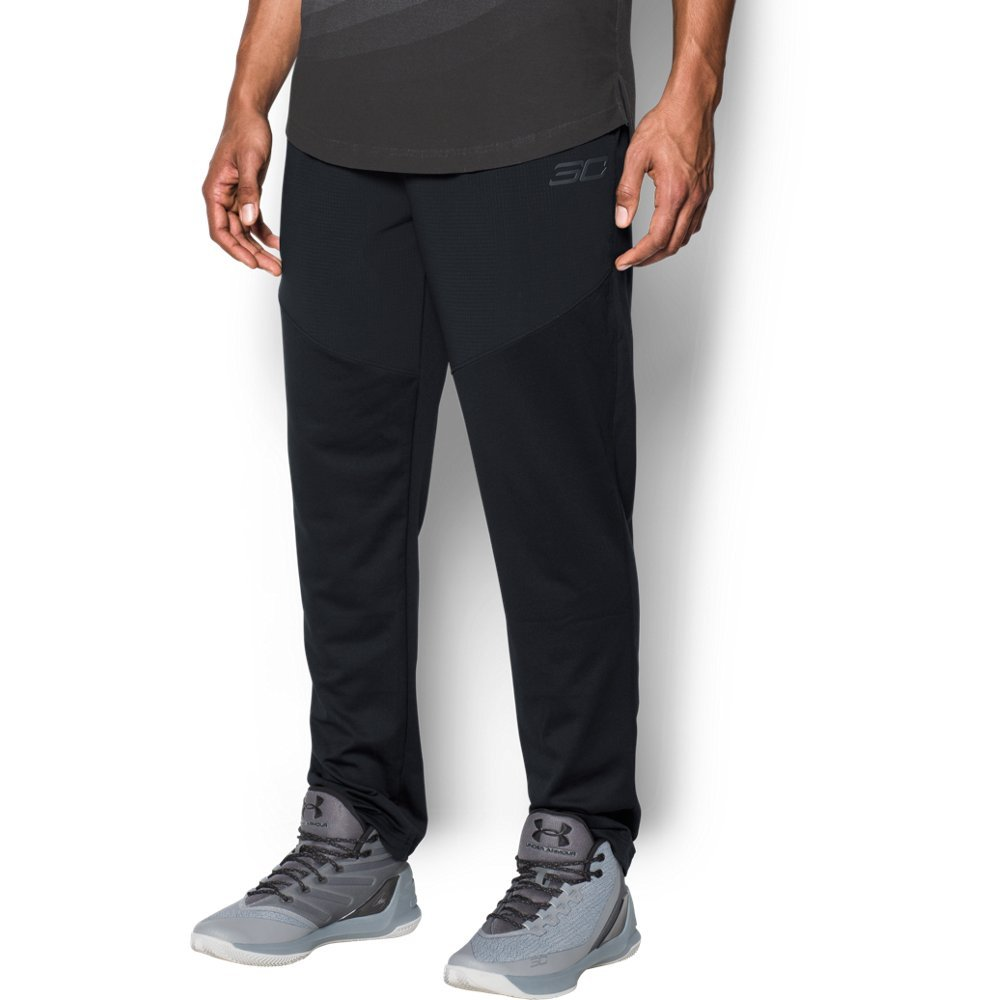 "Durable knit fabric with a smooth face & a soft inner to trap warmth  Material wicks sweat & dries really fast  Encased elastic waistband with external drawcord  Hand pockets  Tapered leg fit  Inseam: 31"" (Tall 33"") - $59.99"