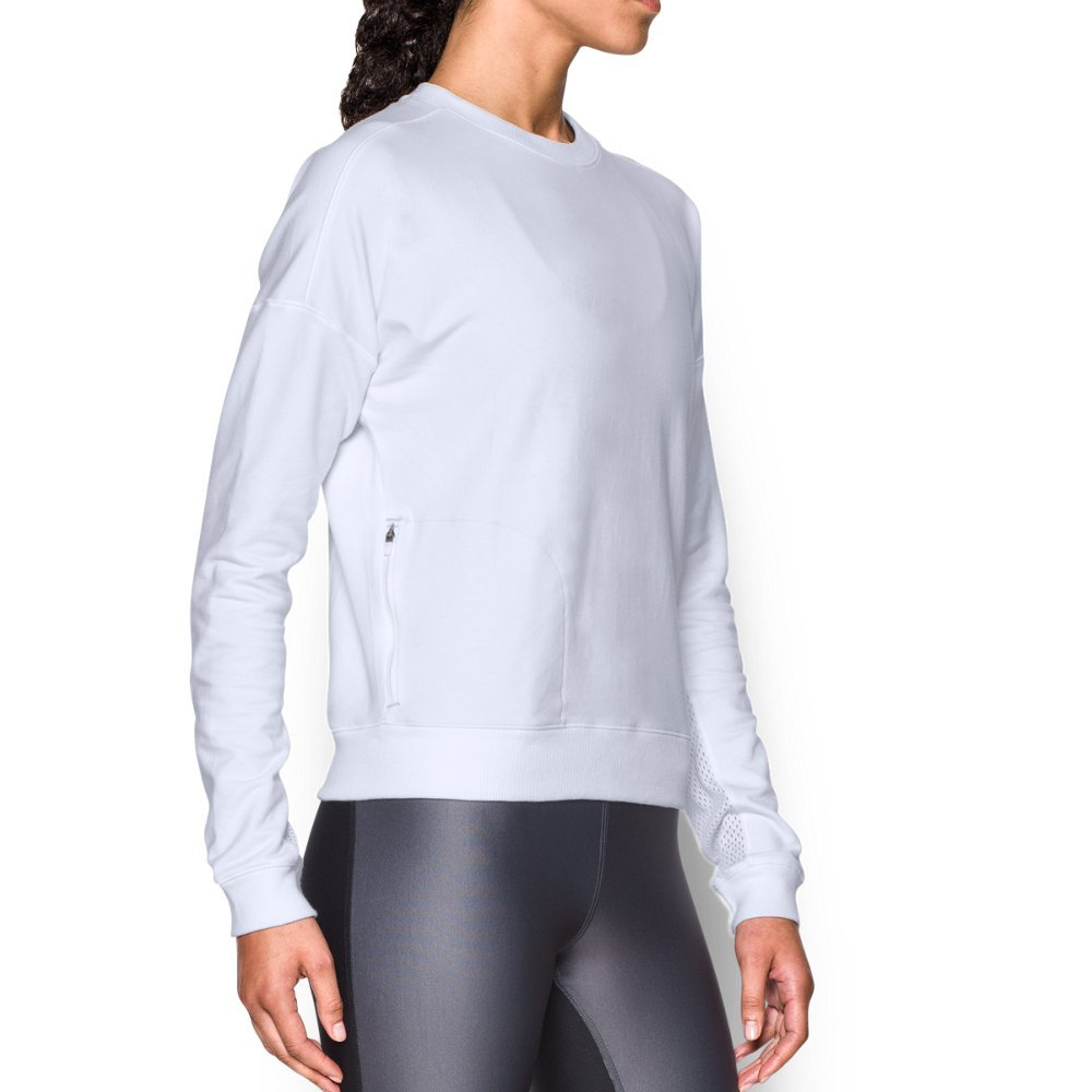 Super-soft terry construction delivers lasting comfort   Signature Moisture Transport System wicks sweat to keep you dry & light  Open hole mesh insets at arms for enhanced ventilation  Unique drop shoulder design eliminates pressure points  Ribbed collar, cuffs& hem  Dedicated media storage pocket - $79.99