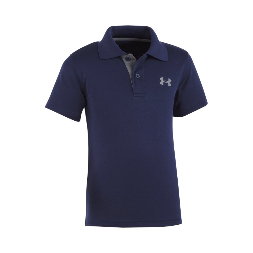 Soft, lightly-textured fabric with durable ribbed collar  Material wicks sweat & dries really fast  3-button placket for easy on/off  Polyester  Imported - $27.00