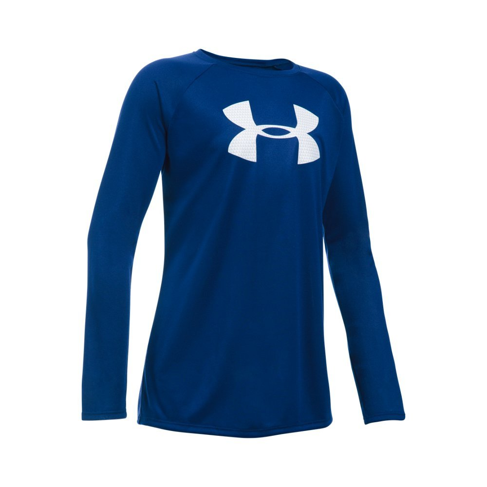 UA Tech(TM) fabric is quick-drying, ultra-soft & has a more natural feel  Material wicks sweat & dries really fast  Anti-odor technology prevents the growth of odor-causing microbes - $18.74