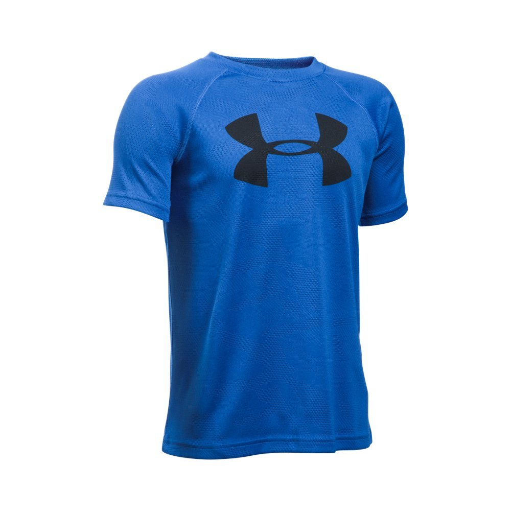 UA Tech(TM) fabric is quick-drying, ultra-soft & has a more natural feel  Moisture Transport System wicks sweat & dries fast  Anti-odor technology prevents the growth of odor-causing microbes - $24.99