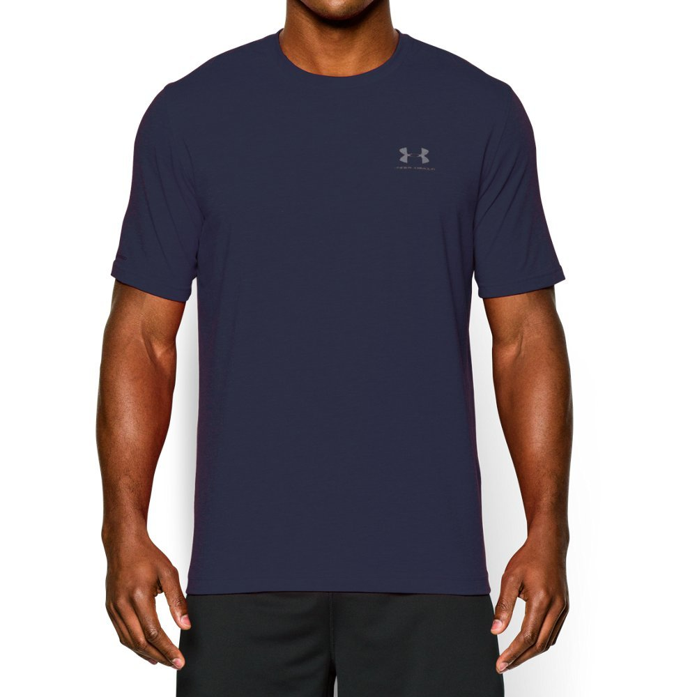 Charged Cotton(R) has the comfort of cotton, but dries much faster  4-way stretch construction moves better in every direction  Material wicks sweat & dries really fast  Anti-odor technology prevents the growth of odor-causing microbes - $18.74