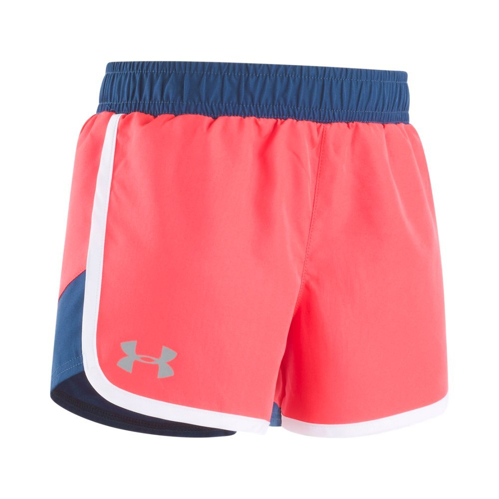 Lightweight woven fabric delivers superior comfort & durability  Material wicks sweat & dries really fast  Covered elastic waistband with external drawcords  Streamlined scalloped hem  Color blocked side panels  Reflective logo offers extra safety during low-light - $13.99