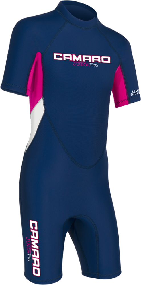 Whether your young one is surfing, paddling or just playing in cooler water, the girls' Camaro Mono REVO Flex Shorty wetsuit provides durable, flexible warmth. - $55.73