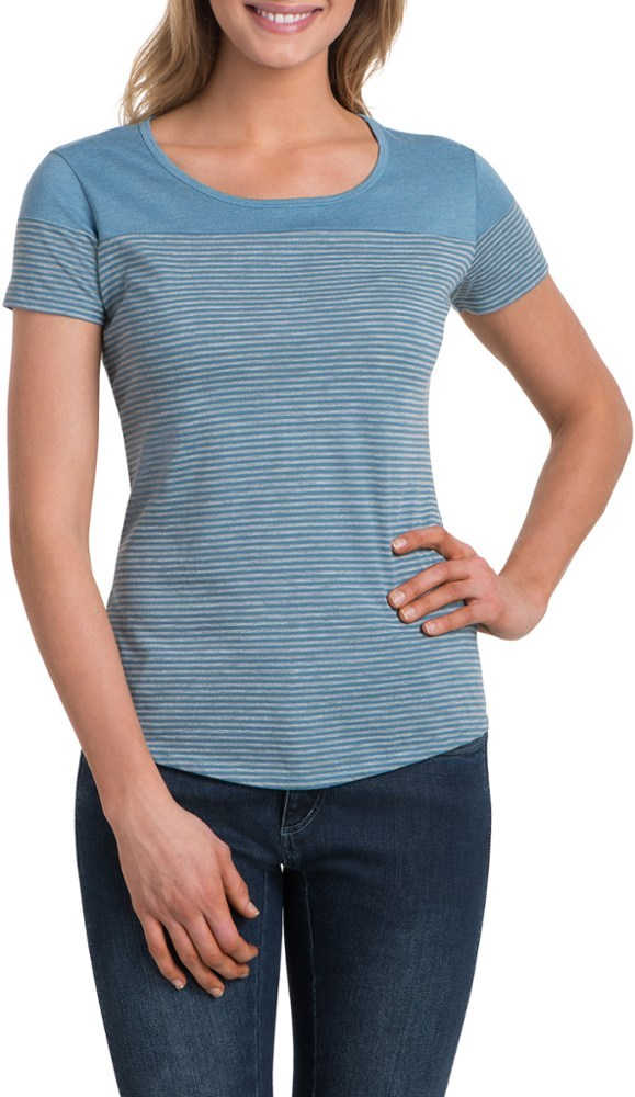 Stitched from soft, burnout fabric, the women's KUHL Tate top provides lasting comfort for kicking back and relaxing when the workout is done. - $50.00