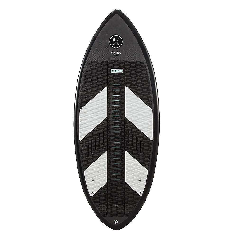 Features of the Hyperlite Hi-Fi Wakesurf Board 360 Degree abs sidewall Dura-shell construction Carbon composite construction Eps core Pintail design Minimal Rocker / flat base Fully machined eva traction pad Built with our new, exclusive dura shell construction, the Hi-Fi can take a beating without showing heel dents while delivering a light weight responsive ride Top it off with a fully machined EVA traction pad and surf with all the control necessary to pull of the most difficult tricks - $699.99
