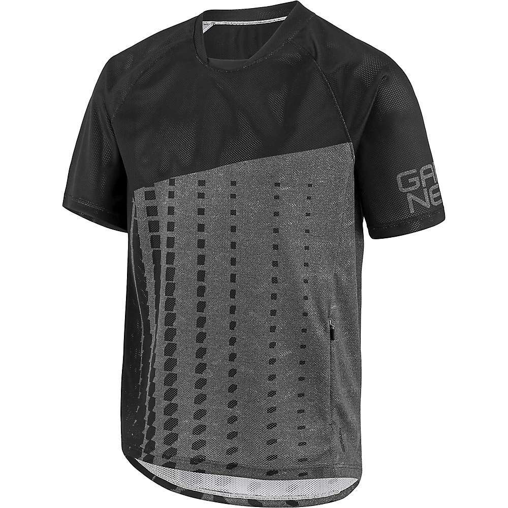 Features of the Louis Garneau Men's Span Jersey Fully vented Moisture management Quick-drying Armor protection compatible 1 Zippered at side - $54.95