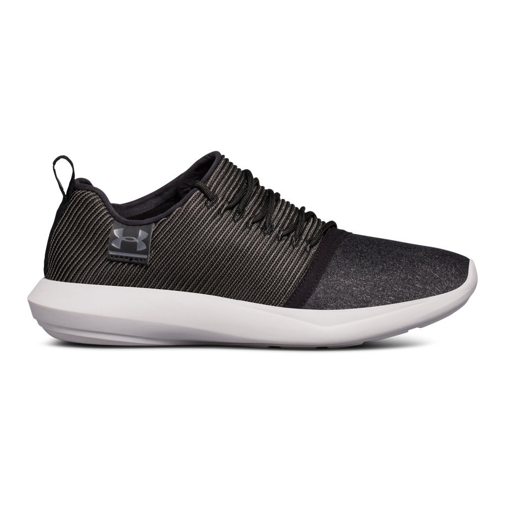 Breathable upper keeps you cool & light  Dual-tone knit material provides style & lightweight comfort  Lacing system uses elastic cords  for an amazing fit & ease of entry  Charged Cushioning(R) provides ultimate comfort  Sculpted midsole designed for a modern look & feel  Removable insole  Weight: 5.6 oz - $80.00
