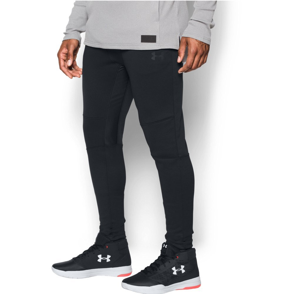 "Lightweight, warm fleece that's smooth outside & soft inside  Stretchy, ribbed back lower legs & inseam   Material wicks sweat & dries really fast  Anti-odor technology prevents the growth of odor-causing microbes  Ribbed waistband with external drawcord  Bonded hand pockets  Tapered leg fit  Inseam: 36"" (Tall 38"") - $63.99"