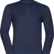 Odlo Men's Alagna Mid-Layer Half-Zip Fleece Top - $51.73