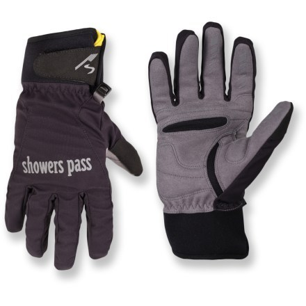 Windy, wet weather is no barrier to biking when your hands are encased in the flexible, windproof Crosspoint Wind bike gloves for women. A waterproof, breathable membrane also keeps light rain out. - $45.00