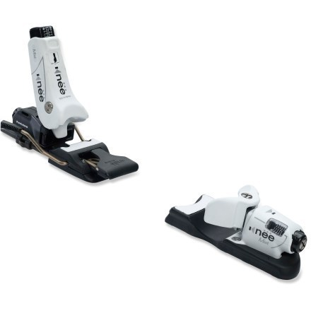 Ski The Kneebinding Mist downhill ski bindings offer an innovative solution to injury on the hill-a heelpiece that releases sideways to reduce the chance of serious knee injury. - $339.95