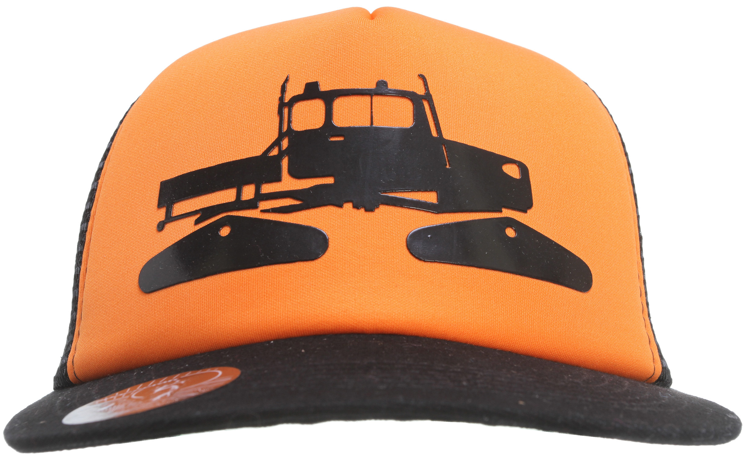 Classic trucker hat with a glossed Snowcat Print. - $25.00