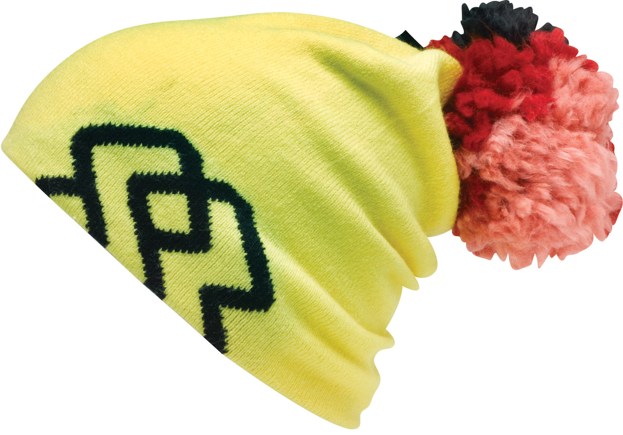 Key Features of the Special Blend Big Ass Pom Beanie:  Machine Knit  97% Acrylic 3% Spandex  Slouch Style  Logo Jacquard With Oversized Multi-Color P - $13.95