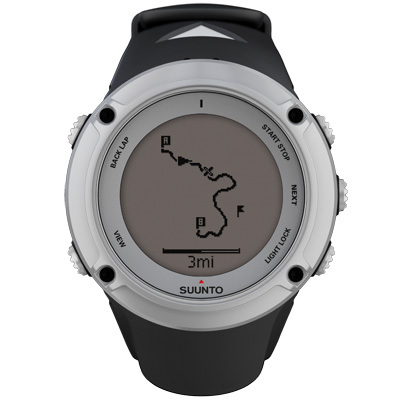All the features needed for running, cycling, swimming, and hiking-navigation, pace, distance, weather conditions, altitude, and more-make the Suunto Ambit2 a necessity for outdoor athletes and explorers. - $375.00
