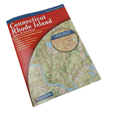 Topographic maps covering all of Connecticut & Rhode Island are here in this one easy-to use volume. - $19.95