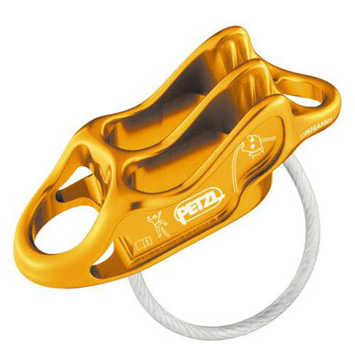 The Petzl Reverso 4 is an ultra-light (59 g) multi-purpose belay/rappel device that regulates the amount of braking friction on the rope according to its diameter and condition. - $29.95
