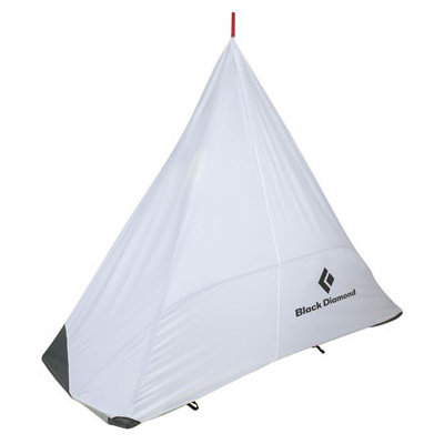 For big wall climbers, the Black Diamond Cliff Cabana Simply Fly  comes in a ready-to-deploy stuff sack to set up in no time. No doors, windows, or frills, but this ultralight protection sure comes in handy when you have to wait out the rain. - $249.95