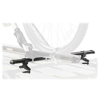 A versatile adapter that enables most car-top bike carriers to be installed to a vehicle's factory rack. - $54.95
