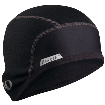 With its windproof Barrier front panel and P.R.O. Thermal fabric, the Pearl Izumi Barrier Skull Cap is the perfect accessory for staying warm during cold winter rides. - $30.00