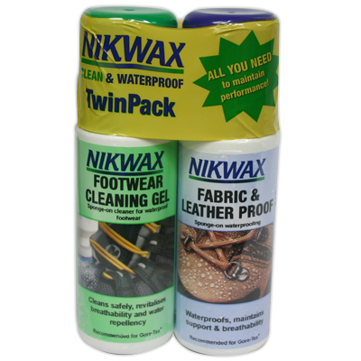 Prolong the life and performance of your footwear with Nikwax-the Cleaning Gel removes dirt and prepares footwear for the Fabric & Leather Proof water-repellent treatment. - $15.00