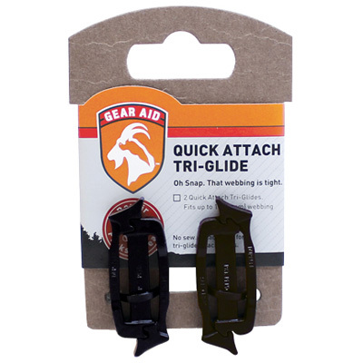 Don't let a broken buckle ruin your outdoor adventure! Make sure you have a Gear Aid Quick Attach Tri-Glide Buckle Kit in your pack and fixing that broken buckle on the trail will be a cinch. - $4.25