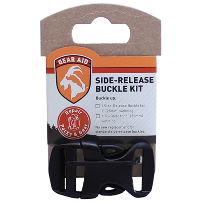 Don't let a broken buckle ruin your outdoor adventure! Make sure you have a Gear Aid Side Release Buckle Kit in your pack and fixing that broken buckle on the trail will be a cinch. - $3.25