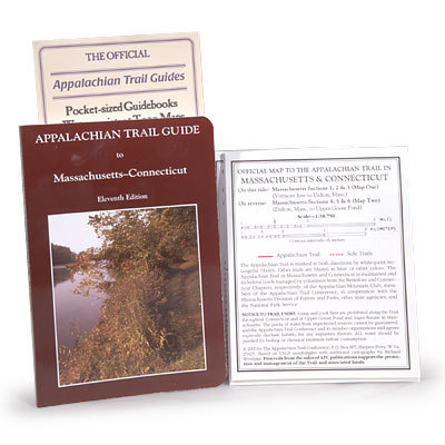 Camp and Hike Comprehensive guidebook and maps for the Appalachian Trail through Massachusetts and Connecticut. Essential for any A.T. thru-hiker. - $27.95