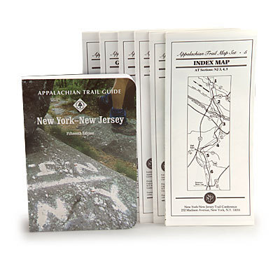 Camp and Hike Comprehensive guidebook and maps for the Appalachian Trail New York and New Jersey. Essential for any A.T. thru-hiker. - $22.95