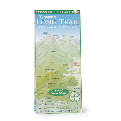 This is the first map in the 94 years of the Long Trail's existence that shows the entire 270-mile route on one piece of paper at a scale suitable for navigation. This map was made in cooperation with the Green Mountain Club, and your purchase of this item helps fund trail maintenance and land protection. - $9.95