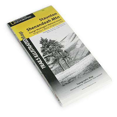 National Geographic's Trails Illustrated(TM) topographical maps, based on USGS information, are designed to take you into the wilderness and back. They show all trails, campsites, and recreational features, plus relevant information on wildlife history, geology, and archaeology. - $11.95