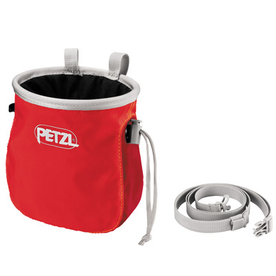 The Petzl Saka chalk bag allows easy access to your chalk thanks to its ergonomic shape. An easy to use drawstring with cord lock closure system makes for simple opening and closing of the bag. - $24.95