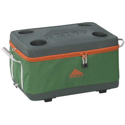 This Kelty hybrid cooler is designed to offer the best of both worlds: it collapses for easy storage, yet unfolds conveniently to create a semi-rigid cooler. - $65.95
