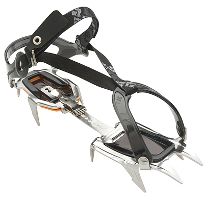 The strap-on Contact is a classic 10-point crampon for mountaineers, skiers and hikers. Now with a lighter-weight, re-engineered design using stainless steel. - $139.95
