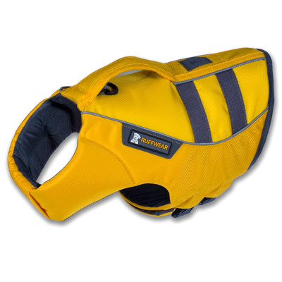 For dogs that love to join their humans rafting, kayaking, boating, surfing and paddleboarding, the K-9 Float Coat from Ruffwear is the ultimate in canine flotation and water safety. - $79.95