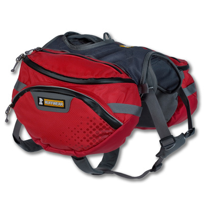 The Ruffwear Palisades Pack starts out as the popular Web Master Harness and adds a rugged, multifeatured, detachable saddlebag system for the ultimate backcountry pack. - $149.95