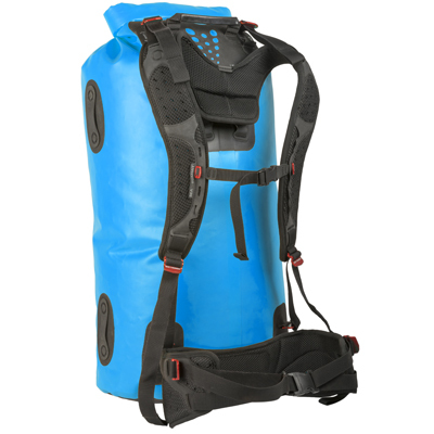 Carrying large amounts of gear? The harness and waist belt on Sea to Summit's Hydraulic Dry Pack make portaging a whole lot easier, whether you're on the river, in the airport, or anywhere else. Easy to put on and remove, the harness system attaches to the bag with a series of buckles as tough as the bags themselves. - $169.95